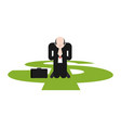 prayer for money businessman is praying on his vector image vector image