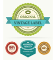 Vintage stickers and labels vector | Price: 1 Credit (USD $1)