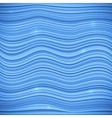 Blue waves sea background vector image vector image