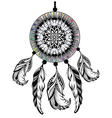 Dream Catcher Protection American Indians vector image vector image