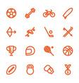 hand drawn flat icons vector image vector image