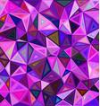Irregular triangle mosaic tile background design vector image vector image