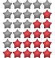Ranking stars vector image