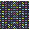 Seamless wrapping wallpaper zig zag print vector image vector image