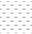 vegan product pattern seamless vector image vector image