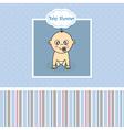 Baby boy birth Greeting Card
