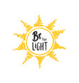 be the light vector image