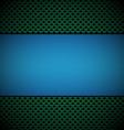 blue green gill vector image vector image