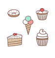 confection pack vector image vector image