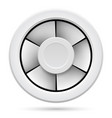 icon of electric fan on white background vector image vector image
