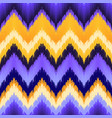 seamless ikat pattern vector image vector image