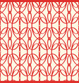 abstract seamless red elements pattern