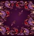 bandana paisley and butterflies- classic design vector image vector image