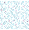 Ice Cream Pattern 4 vector image