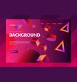 Modern gradient background landing page templates