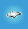 paper napkins or handkerchiefs vector image vector image