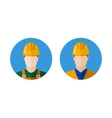 Set of builders icons vector image vector image