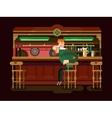 Shop pub beer vector image vector image