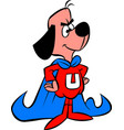 underdog-character-jpg vector image vector image