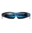 cool sunglasses vector image