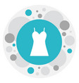 of trade symbol on dress icon vector image