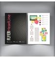 Abstract Brochure Flyer design template vector image vector image