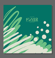 Abstract flyer with space for text It can be used vector image vector image