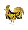 Chinese New Year Rooster Poster vector image vector image