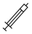 Drug medicine syringe icon