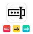 Input password icon vector image