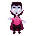 vampire cute cartoon character vector image