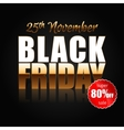 Black Friday 4 vector image