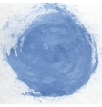 Dirty blue watercolor vector image
