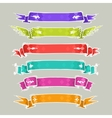 Cartoon Ribbons Set2 vector image vector image