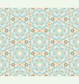 floral seamless pattern flourish tiled oriental vector image