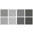 tile seamless pattern set vector image
