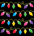 Christmas lights cross-stitch pattern pixel xmas