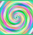 colorful ellipse fractal spiral design background vector image vector image