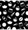 cosmetics pattern vector image vector image