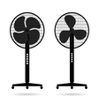 fan icon set vector image