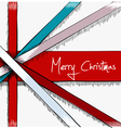Greeting Christmas Card drawn in sketch style vector image vector image