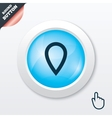 Map pointer sign icon Marker symbol vector image vector image