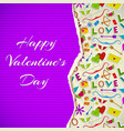 romantic colorful template vector image vector image