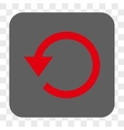 Rotate CCW Rounded Square Button vector image vector image