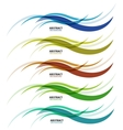 Abstract background colorful business wave line