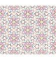 flourish mosaic tiled pattern floral oriental vector image vector image