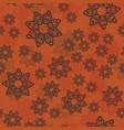 mandala pattern or floral elements randomly vector image vector image