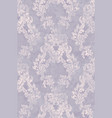 rococo pattern texture floral ornament vector image vector image