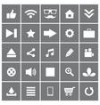Universal Flat Icons Set 1 vector image