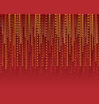 abstract modern background with red lines of vector image vector image